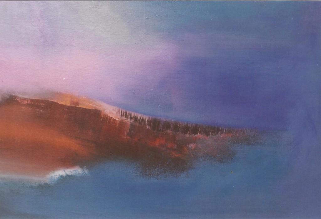 Paaseiland, acryl op linnen, 68 x83 cm. € 695,-