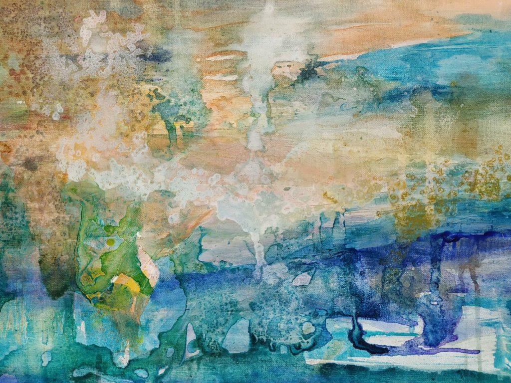 Ochtendgloren - 50 x 40 - Acryl op doek