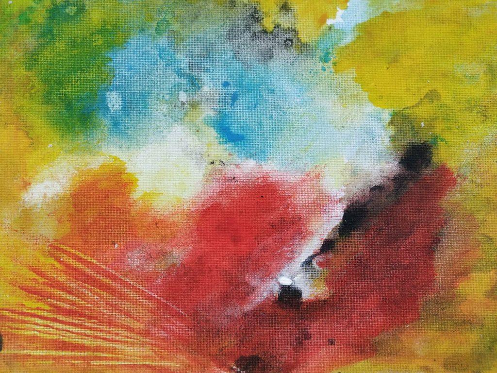 nature 2 - 30 x 24 acryl op doek